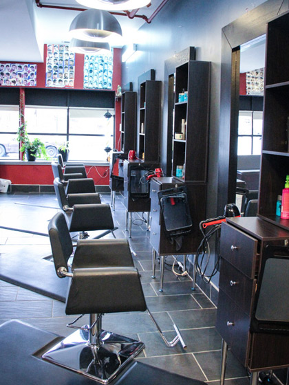 Inside Scarlett Hair Salon
