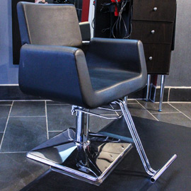 Salon Black Chair